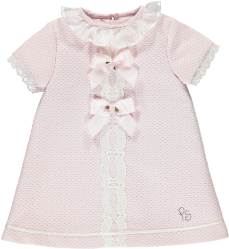 Piccola Speranza Pink Ribbon Dress